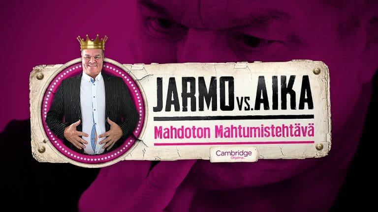 Työ: Cambridge Ohjelma - Jarmo vs. Aika